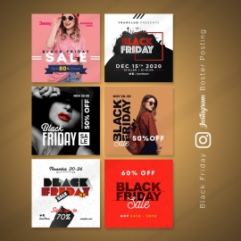 Black Friday Instagram Booster Kit Banners