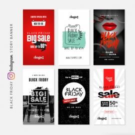 Black Friday Instagram Sale Promotion Banners
