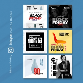 Black Friday Instagram Sale Promotion Booster Kit