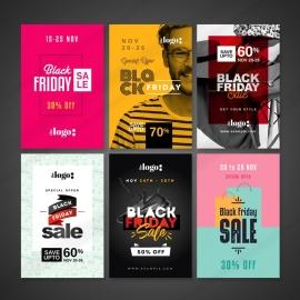 Black Friday Pinterest Posting Banners