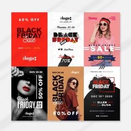 Black Friday Pinterest Sale Promotion Banners