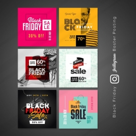 Black Friday Posting & Booster Kit for Instagram