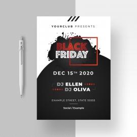 Black Friday Sale Black Flyer