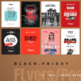 Black Friday Sale Flyer & poster Bundle | Poster 2
