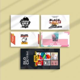 Black Friday Sale Promotion Social Media Facebook Posting Kit
