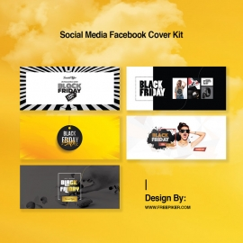 Black Friday Social Media Facebook Timeline Cover