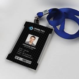 Black Office Identity Card