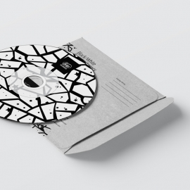 Black & White CD Sticker Pack