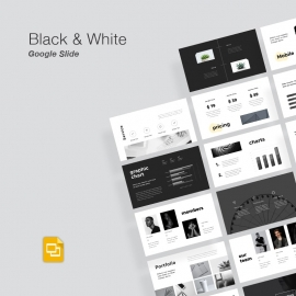 Black & White Google Slide