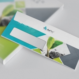 Blue Accnet Business DL Envelope Commercial With Abstract