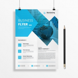 Blue Business Flyer