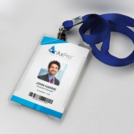 Blue Office Identity Card