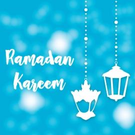 Blue Ramadan Kareem