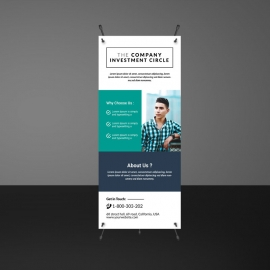 Boxs Paste Accent Rollup Banner