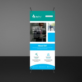 Boxs Rollup Banner Template