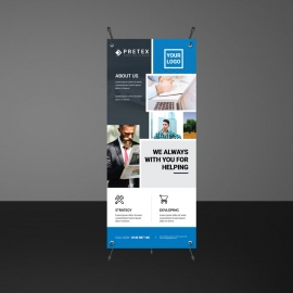Boxs Rollup Banners Template