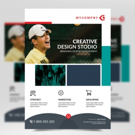 Boxs Simple Business Flyer