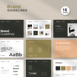 Brand Guidelines Identity Brochure