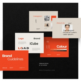 Brand Style Guidelines Brochure