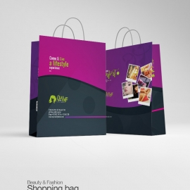 Buauty & Fashion Creative Shopping Bag