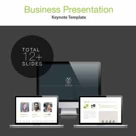 Business & Academic Keynote Presentation Template