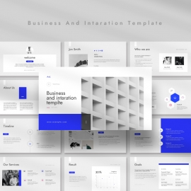 Business And Intaration Google Slide Template