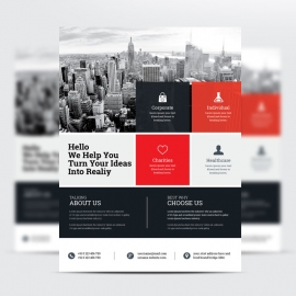 Business Boxs Red Flyer