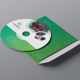 Business CD Sleeve & Sticker