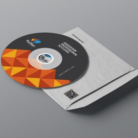 Business CD Sleeve & Sticker