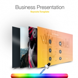 Business Keynote Presentation Template