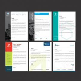 Business Letterhead Bundle