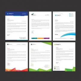 Business Letterhead Bundle