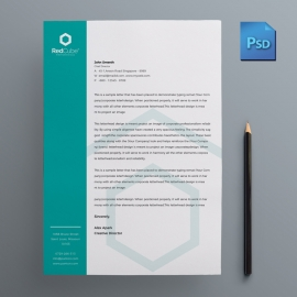 Business Minimal Letterhead Design