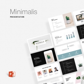 Business Minimalis Powerpoint