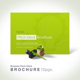 Business Pitch-Deck & Plan Brochure Landscape
