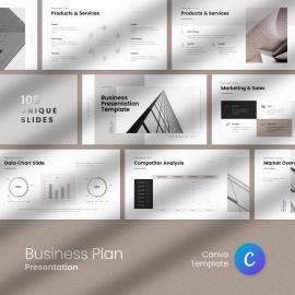 Business Plan Canva Presentation
