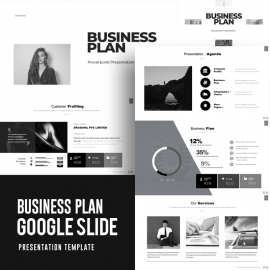 Business Plan Google Slide Template 2