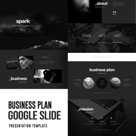 Business Plan Google Slide Template 3