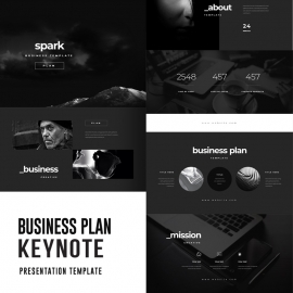 Business Plan Keynote Template 3