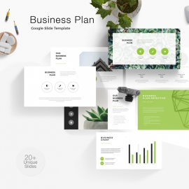 Business Plan & Objectives Google Slide Template