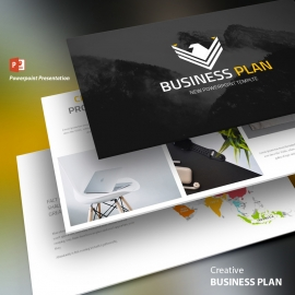 Business Plan Powerpoint-presentation-template