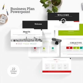 Business Plan Powerpoint Presentation Template