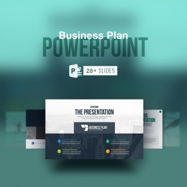 Business Plan Powerpoint PresentationTemplate