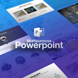 Business Powerpoint Project Presentation Template