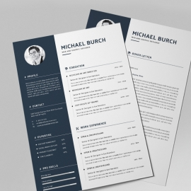 Business Powerpoint Resume Template