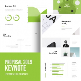 Business Proposal 2019 Keynote Template