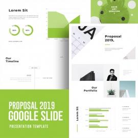 Business Proposal 2019 Slide Template