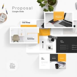 Business Proposal Google Slide Template