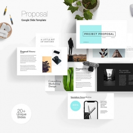 Business Proposal Google Slide Template