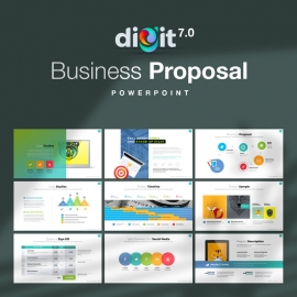 Business Proposal Powerpoint | Digit VII